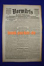 VORWÄRTS (1. April 1916): Die Friedensbewegung in England