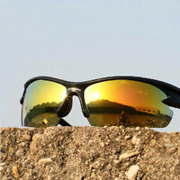 Hiking Sun Cycling Bicycle Glasses Sunglasses Bike Protection Goggles 3 Lenses