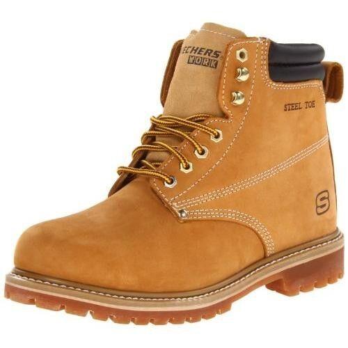 New Skechers 76890/WTN  Work Men's Foreman Steel Toe Boot size 12