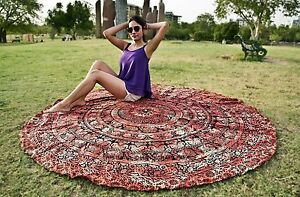Indian-Round-Elephant-Mandala-Tapestry-Wall-Hanging-Hippie-Ethnic-Throw-Yoga-Mat
