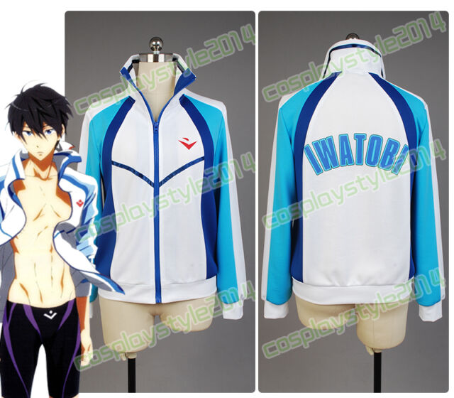Free!Eternal Summer-Iwatobi Swim Club Cosplay Costume Haruka Nanase Sport Jacket