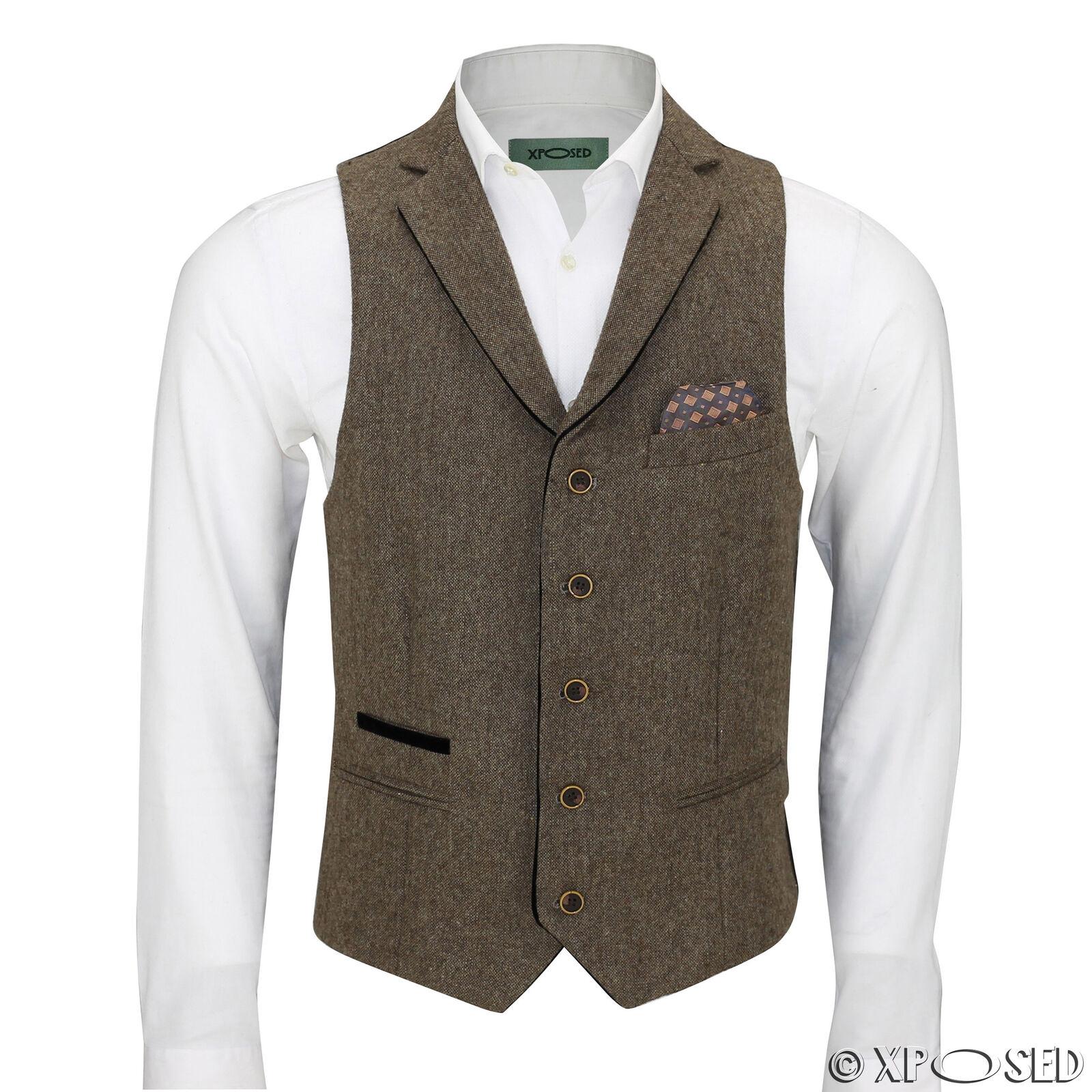 Waistcoat-Collar-Oak Tan