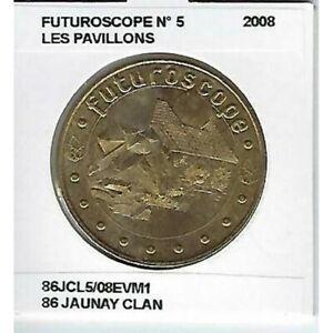 86 JAUNAY CLAN FUTUROSCOPE Numero 5 LES PAVILLONS 2008 SUP-