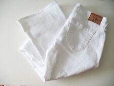 True Religion Womens Tony Slim Boot Cut Jeans Optic White Sz 32 - NWT