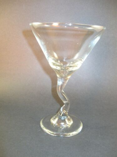 MARTINI GLASSES WITH A Z STEM   BY LIBBEY