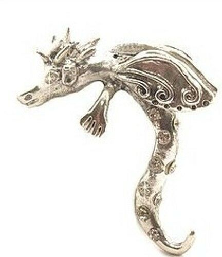 1 Drachendame Lady Godiva ca 58 x 46mm für Perlen von ca 18-22mm