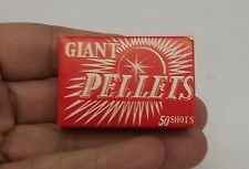 VTG BOX WITH 50 SHOTS Giant Pellets for an Automatic toy gun MIB Japan 7 MM RED