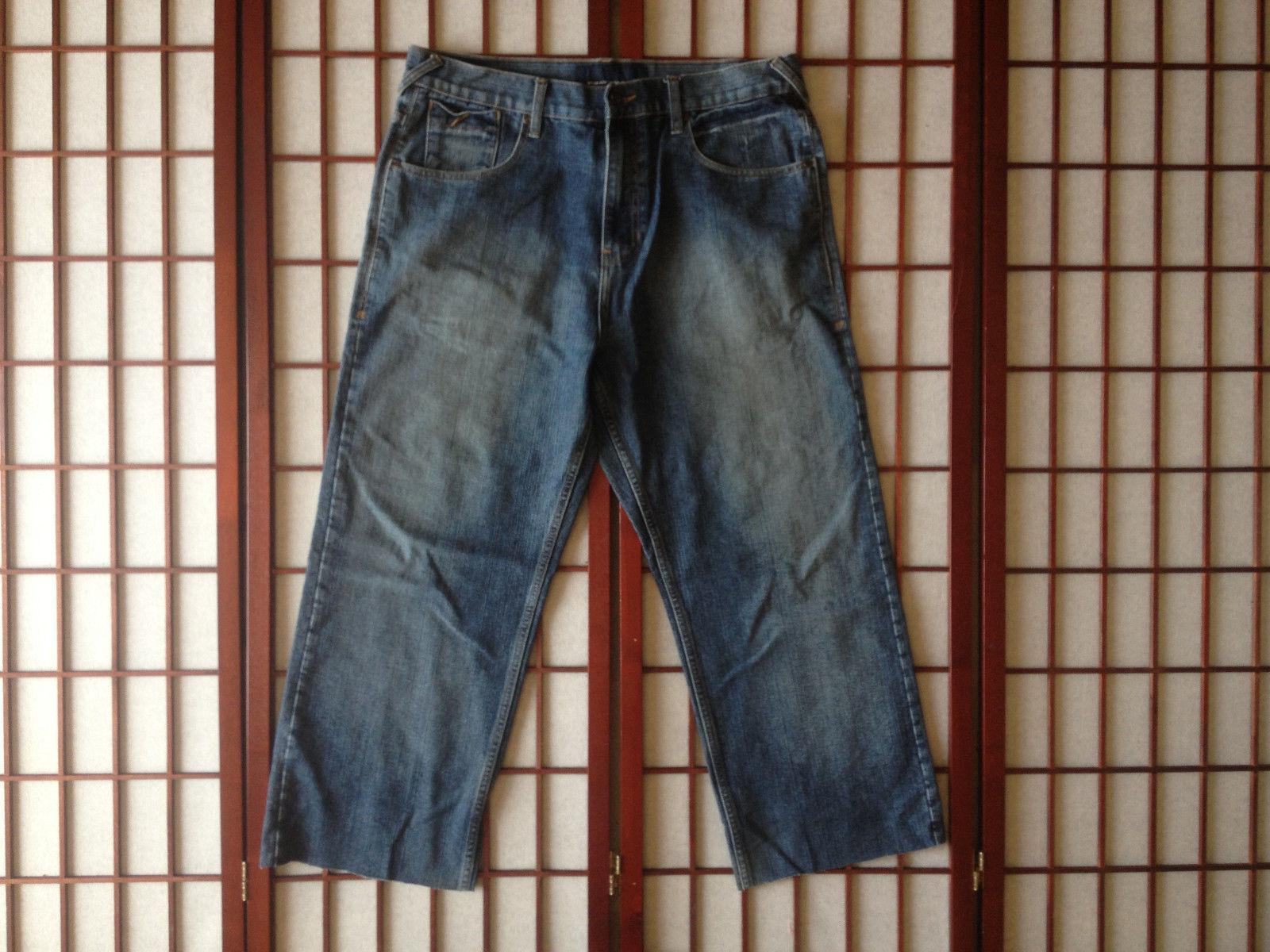 Phat Farm Relaxed Fit Classic Jeans Mens Apparel Sze 39 Ins 26 Cotton Garment