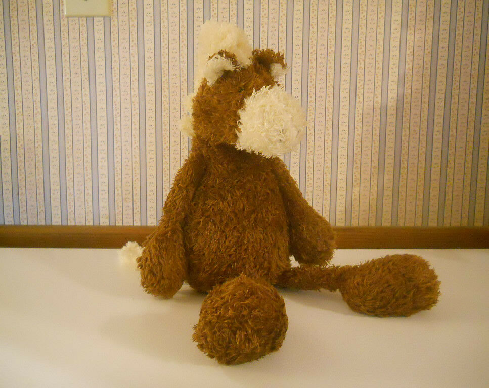 Manhattan Toy LARGE plush stuffed PONY Horse 2001 RAGALANGS soft floppy Braun