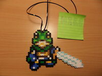 chrono trigger glenn perler bead 8 bit nintendo game fuse pixel art sprite