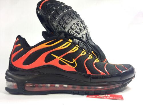 Plus Air oranje shock motor1 002 Ah8144 C1 heren Nike Tn 97 Max Nieuwe zwart 1gRtFaR
