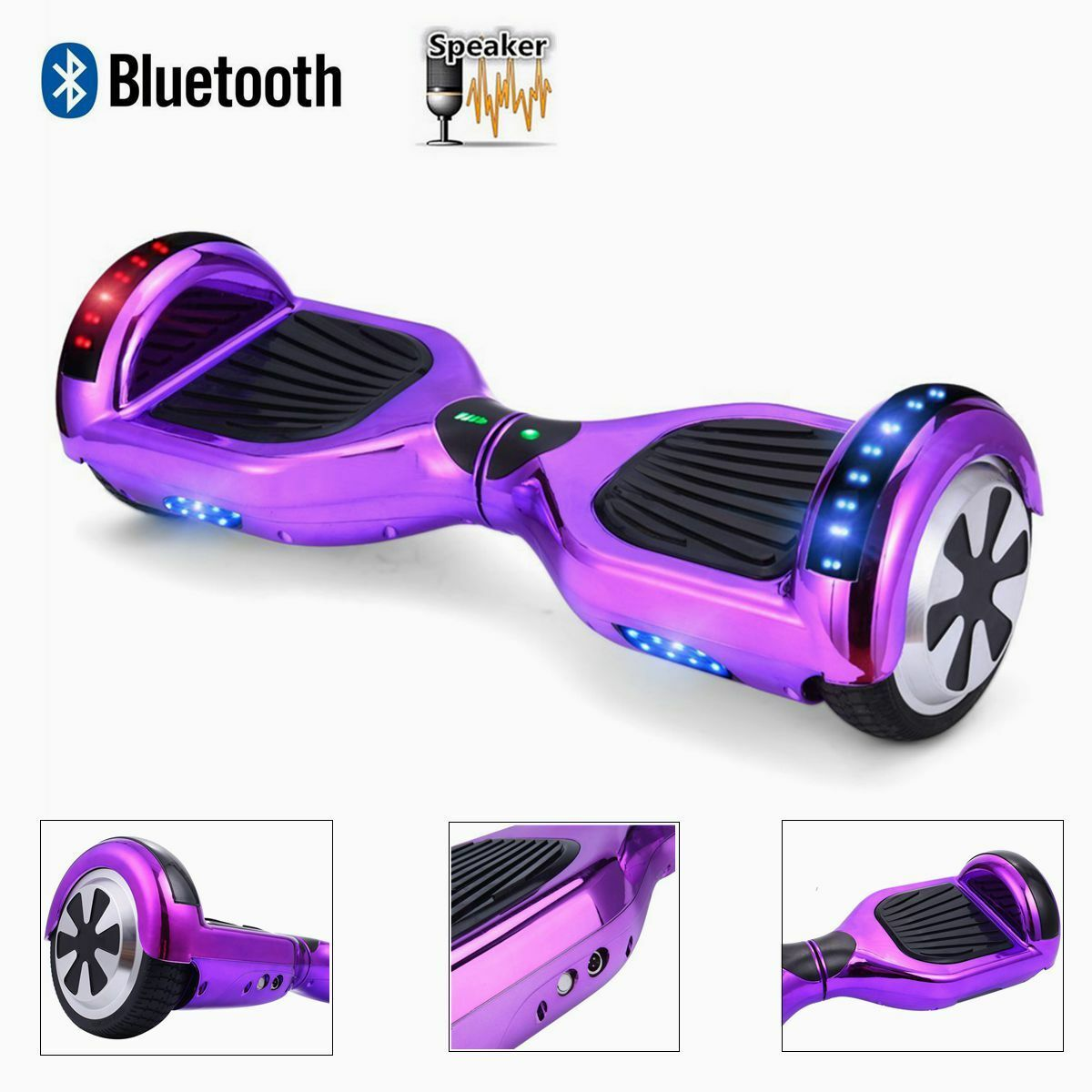 6.5  Smart Electric Scooter Self Balancing Scooter Balance Board blueetooth LED