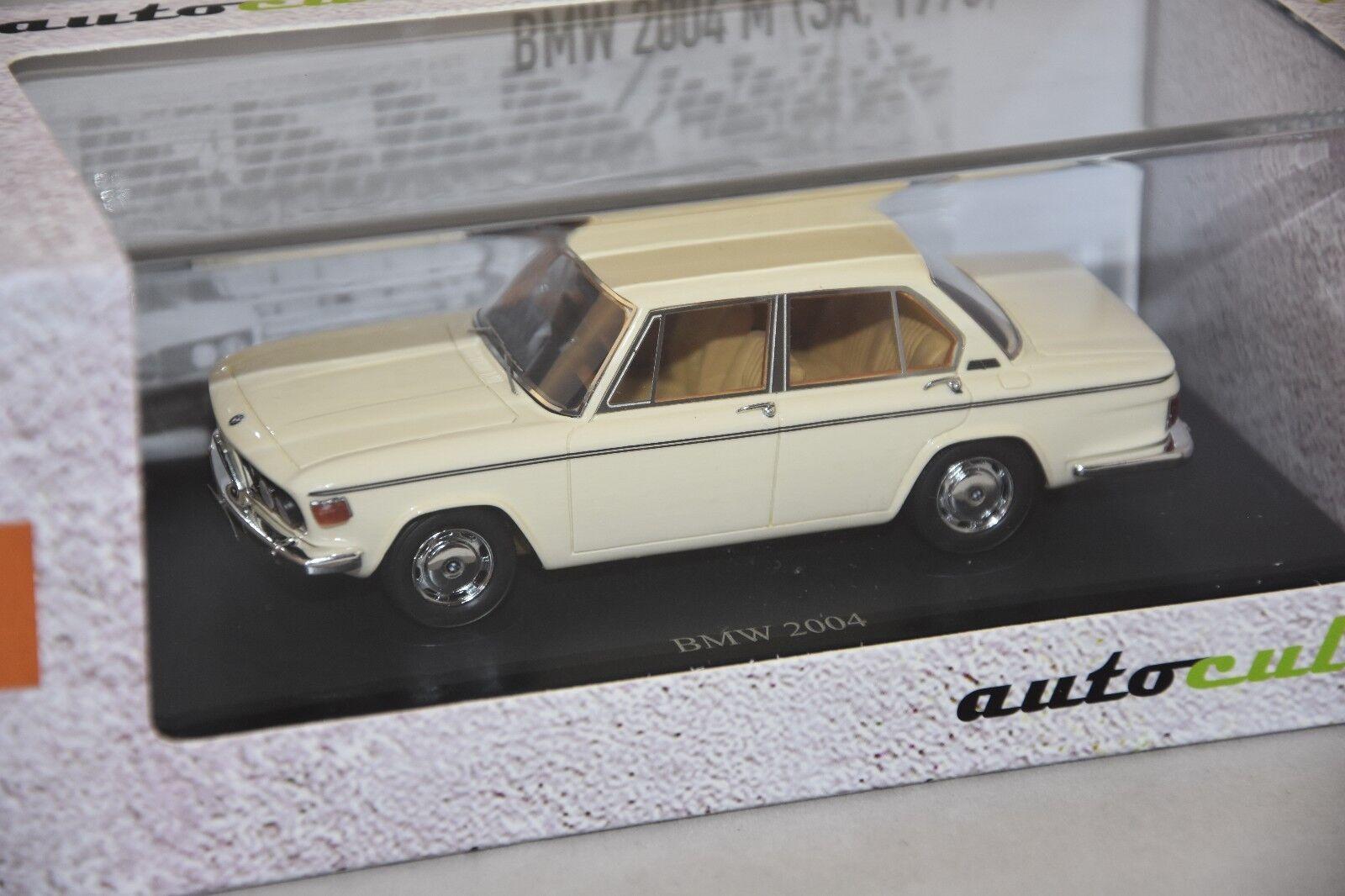 Autocult ATC05022  - BMW 2004M Sedan Ivoire - Afrique du Sud - 1973    1 43