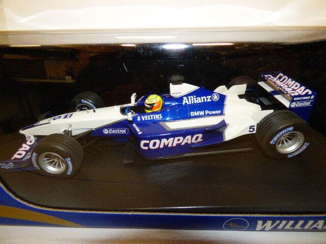 Minichamps Williams F1 BMW FW23 R. Schumacher  1st GP win 2001  REF 010025