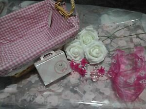 Image Is Loading SALE Baby Girl DIY Gift Basket Set Amp