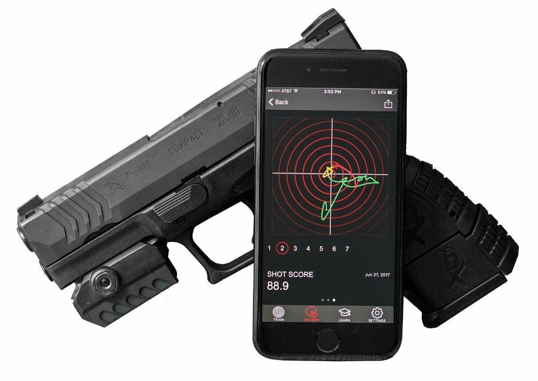 Sistema de rendimiento de disparo mantisx Diseñado Para Fire & Dry Fire Live