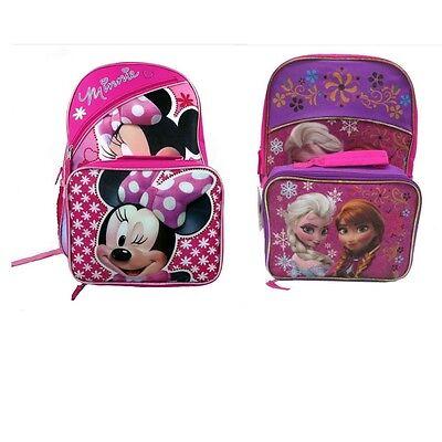New Girls Lightning Bug Silly Smile 6 in 1 School Backpack Lunch Bag Bottle Set