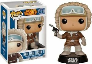 "STAR WARS HAN SOLO HOTH 3.75"" VINYL BOBBLE HEAD FIGURE POP FUNKO EXCLUSIVE"