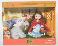 Barbie Kelly Little Red Riding Hood Doll Storybook Favorite Collection 2001