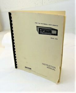 INFICON-Model-XTM-Thin-Film-Thickness-amp-Rate-Monitor-Instruction-Manual