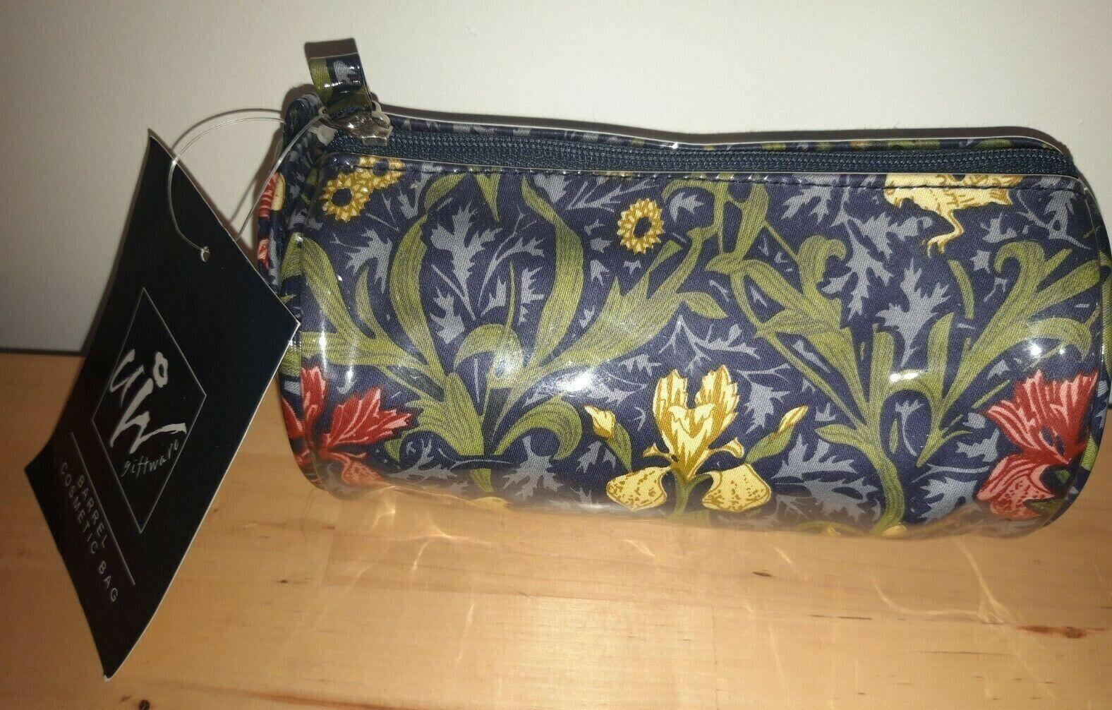 William Morris purse /& mirror set Willow Bough green