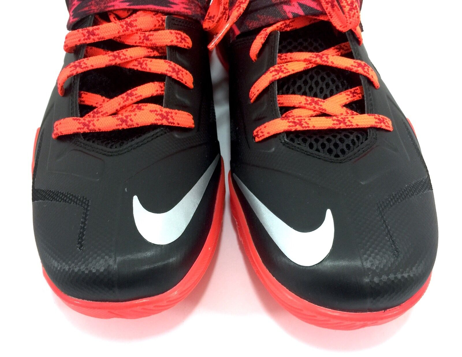 Nike zoom soldat vii lebron james 609679-005 schwarz - 13, rot - größe 13, - 12. uk 5cce61