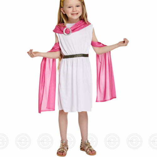 GIRLS GREEK GODDESS ROMAN TOGA FANCY DRESS COSTUME GIRL NEW KIDS OUTFIT CHILDS