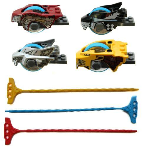 LEGO Legends of CHIMA SPEEDORZ x4 inertia motor non elec flywheel pullback cycle