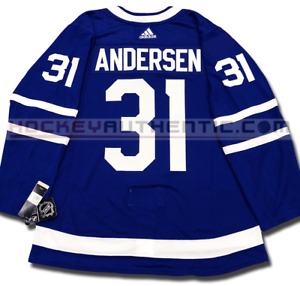 FREDERIK ANDERSEN TORONTO MAPLE LEAFS HOME AUTHENTIC PRO ADIDAS NHL JERSEY
