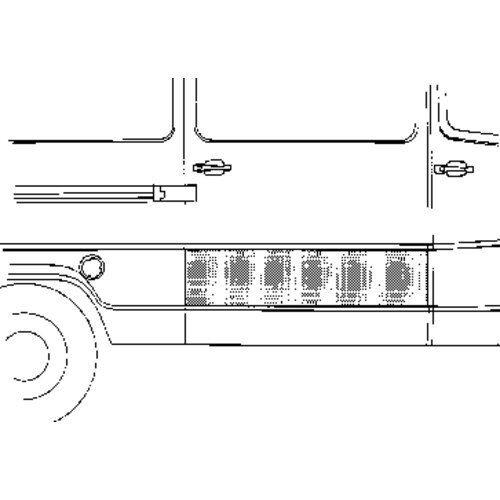 Porte Carrosserie Extérieur Droite 3070174