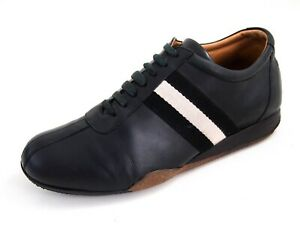 Bally Fashion Sneakers Black Leather