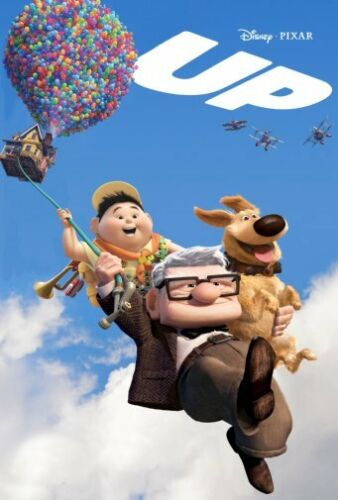 Up 2009 Movie Poster #01 24x36