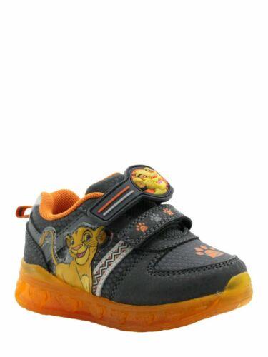 Disney Lion King Toddler Boys Athletic Shoes Light Up Sizes  10 9 8 NWT