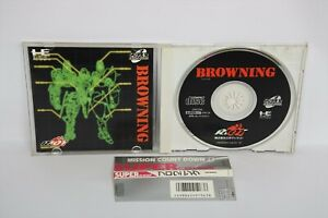 PC-Engine-SCD-BROWNING-with-SPINE-PCE-Grafx-Japan-Game-pe