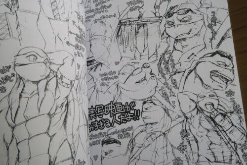 A5 16pages Rotten Freaks YUI TMNT Teenage Mutant Ninja Turtles doujinshi RL