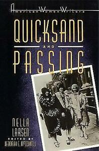 Quicksand-and-Passing-American-Women-Writers-Series-ExLibrary