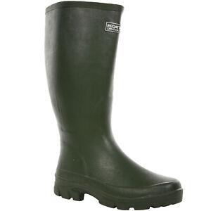 Regatta Mens Mumford II Outdoor Wellies Welly Wellington Boots - Deep Green