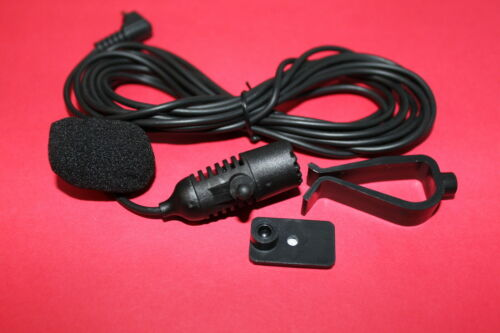 Microphone for Pioneer AVH-X391BHS AVH-X491BHS AVH-X7800BT AVH-P6300BT #2.5