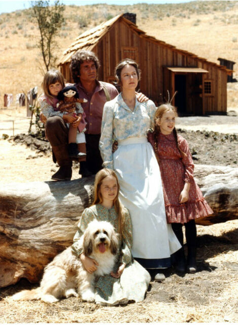 PHOTO LA PETITE MAISON DANS LA PRAIRIE - FAMILLE INGALLS  11X15 CM #58=1B