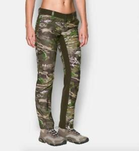 52b7355364 Details about NEW Women's Under Armour Early Season Camo Hunting Pants  1293111-947 Size 8