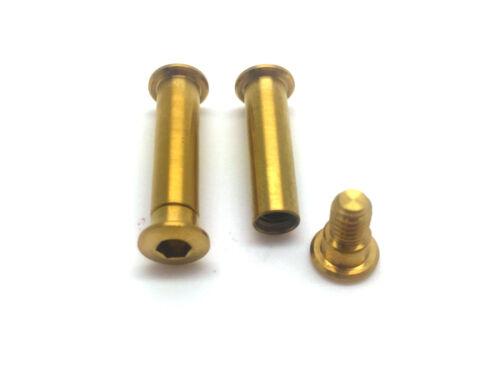 Formula CURA 43/% lighter 2 axles for Brake Levers in Titanium