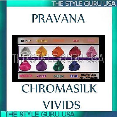 PRAVANA CHROMASILK VIVID CHROMA - YOUR CHOICE OF COLOR