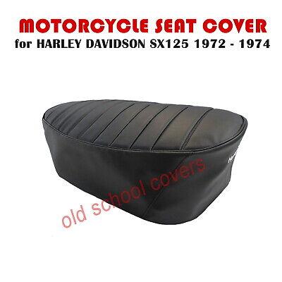 Moto Housse de siège HARLEY DAVIDSON SX 125 SX125 1972-1974