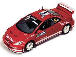 Ixo-Models-1-43-RAM-152-Peugeot-307-WRC-5-Winner-Rally-Finland-2004-NEW