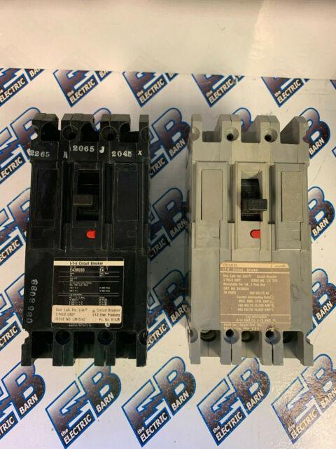 ITE E43B030 30 Amp 480 Volt 3 Pole Breaker