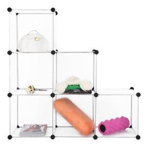 LANGRIA Modular Shelving, DIY Closet Organization System ...