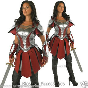 Image is loading CL329-Ladies-Thor-2-Sif-Adult-Costume-Deluxe-  sc 1 st  eBay & CL329 Ladies Thor 2 Sif Adult Costume Deluxe Marvel Fancy Dress ...