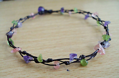 Amethyst Anklets,peridot Anklets,cherry Anklets,stone Anklets,women Anklets Anklets