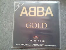 Abba - Gold 2 x Disco Vinyl LP SPAIN 2 tracks SUNG IN SPANISH