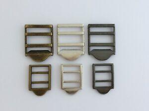 Adjustable Tongless Metal Slide Buckles
